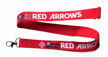 Royal Air Force RAF Red Arrows Diamond 9 Lanyard
